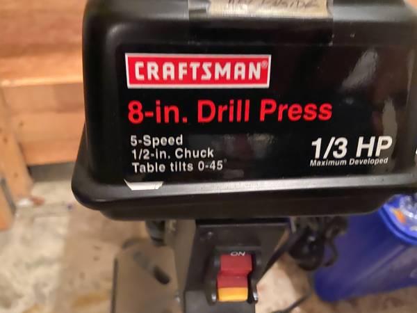 Photo Craftsman 13hp Drill Press - $250 (Monticello)