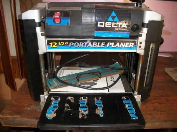 Photo Delta Planer - $285 (Saint Joseph)