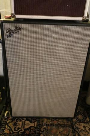 Photo Fender Bassman 610Neo 6x10 Bass Cabinet - $900 (Chaign)
