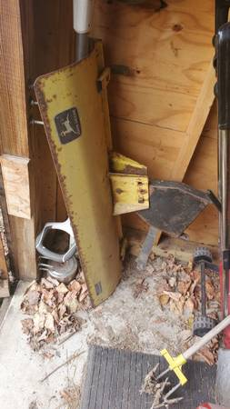 Photo John deer snow blade - $100 (paxton il)