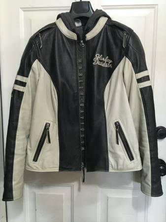 Photo Ladies 3-in-1 Leather Harley Davidson Jacket - $225 (Mahomet)