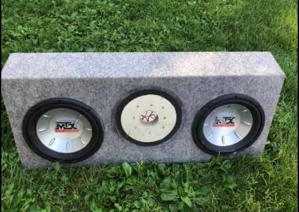 Photo MTX audio Thunder 6000 bass speakers - $100 (Hoopeston)