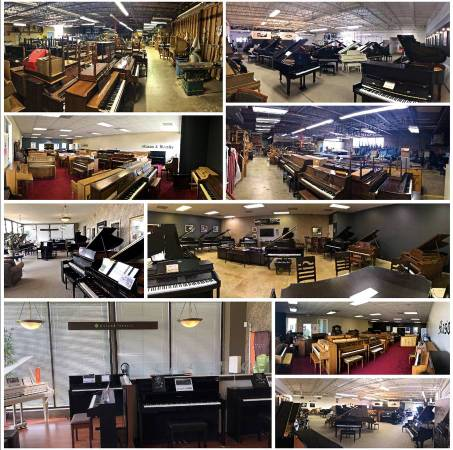 Photo New  used pianos Shop from home  video chat  demos available (Urbana)
