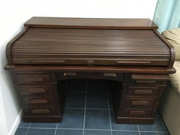 Photo Roll Top Desk - $2,500 (Loda)