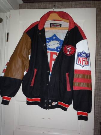 Photo SAN FRANCISCO 49ERS JACKET - $120 (Chaign)