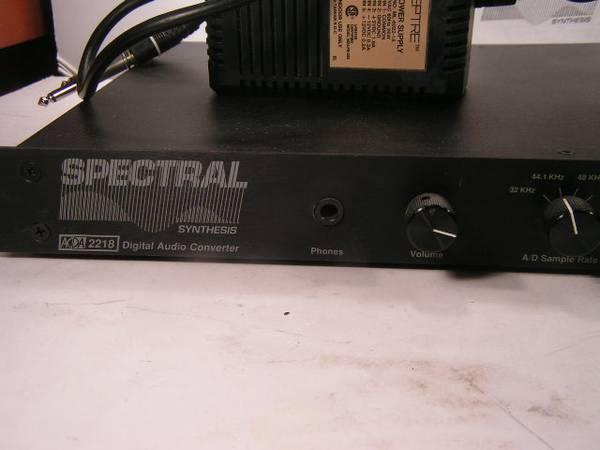 Photo Spectral Synthesis ADDA 2218 18-Bit Digital Audio Converter - $150 (Chaign)
