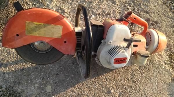 Photo Stihl TS 350 Super concrete saw - $275 (Monticello)