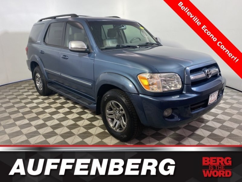 Photo Used 2007 Toyota Sequoia Limited for sale