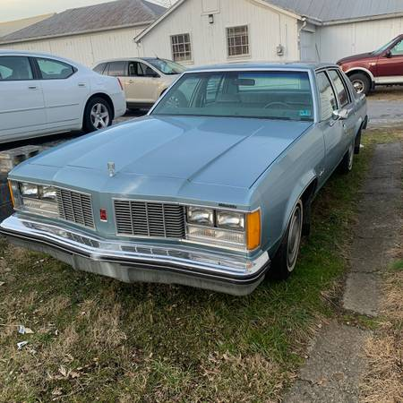 Photo 1979 Oldsmobile Delta 88 Diesel 50,732 Original Miles - $1,500 (Chambersburg)