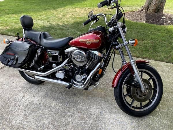 Photo 1995 Harley Dyna Convertible - $6,200 (Harrisburg)