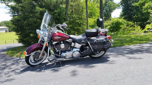 Photo 2014 HD Heritage Softail - $14,950 (Greencastle)