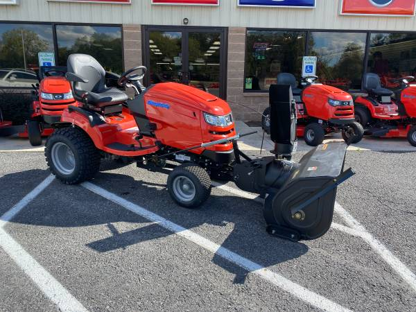Photo 2020 SIMPLICITY PRESTIGE 27 HP 50quot DECK 42quot 2 stage USED SNOWBLOWER - $9,499