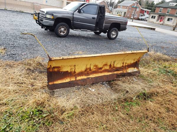 Photo 839 Meyers Power Angle snow plow - $300 (Chambersburg)