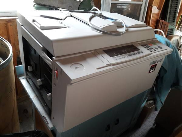 Photo AB DICK 6120 DIGITAL PRINTER - LIGHTLY USED - $40 (MIDDLE SPRING)