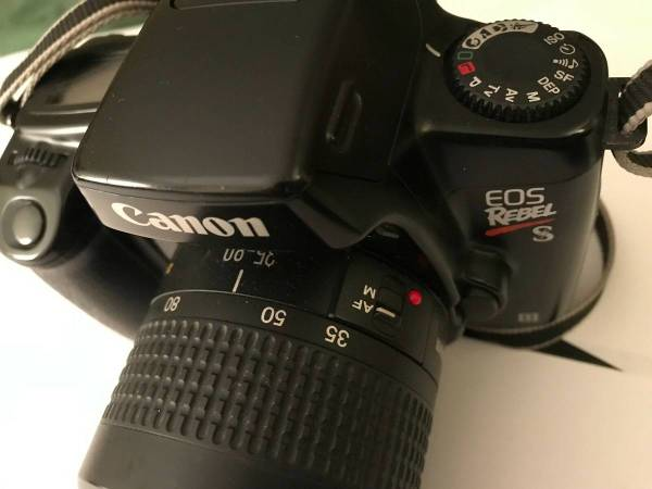 Photo CANON EOS REBEL X Film Camera with 35-80mm Lens - $150 (HAGERSTOWN)