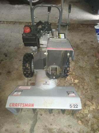 Photo Craftsman snowblower - $125 (Huntingdon)