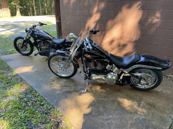 Photo HD Wideglide and Springer softail - $1 (Greencastle Pa)