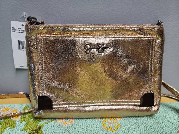 Photo NEW WTAGS Jessica Simpson quotFrankiequot SHIMMERY PINK Crossbody Purse - $39 (Red Lion, PA)
