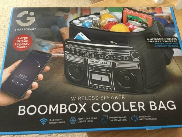 Photo Smart Gear boom Box Style Cooler Bag - $30