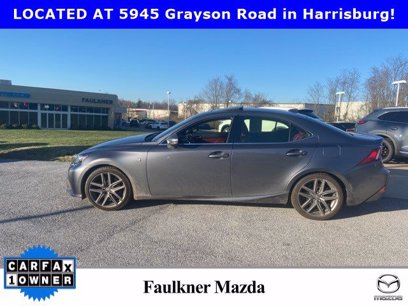 Photo Used 2016 Lexus IS 350 AWD w F Sport Package for sale
