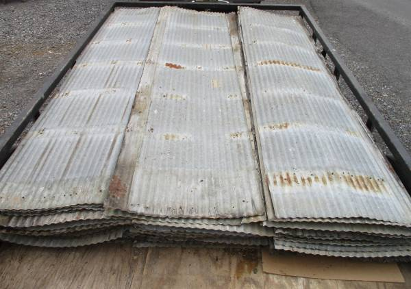 Photo Used Corrugated Roofing Tin 26quot wide -939 Long, Ideal for Repurposing U - $18 (Pine Grove, Pa)