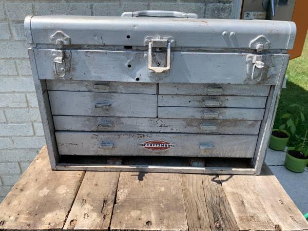 Photo Vintage Craftsman tool box - $40 (Chambersburg)