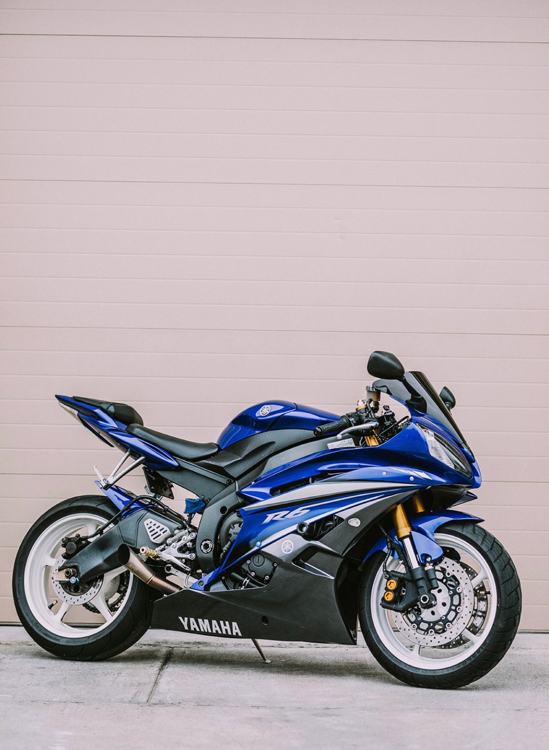 Photo Used 2007 Yamaha Sportbike Motorcycle  $8450