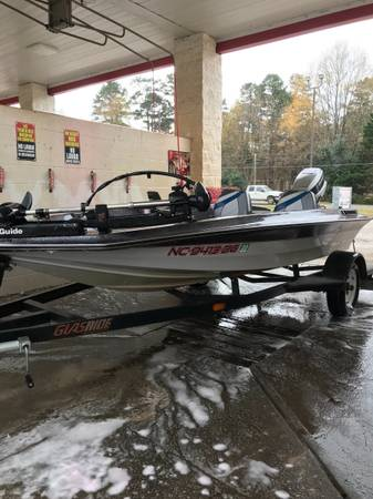 Photo 14 Glass Stream Bass boat with trailer - $4,000 (Monroe nc)