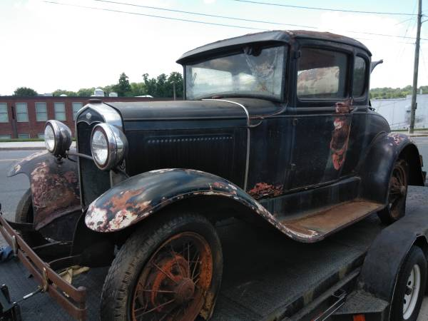Photo 1930 Ford A-Model Coupe Barn Find - $7500 (Burlington N.C.)
