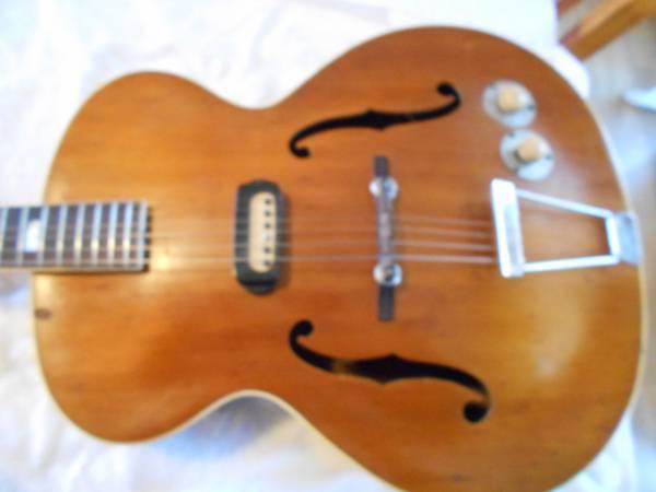 Photo 1948 Epiphone Zephyr - $1,700 (Albemarle, NC)
