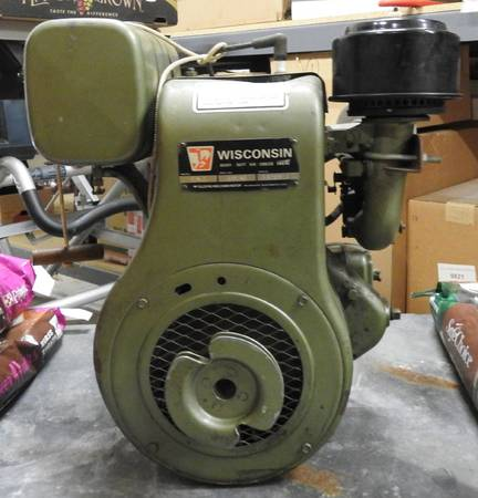 Photo 1973 Vintage Wisconsin AENLD engine, starts first pull, A condition - $695 (Denver, NC)
