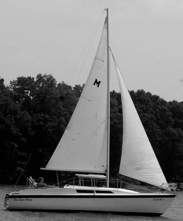 1994 MacGregor 26 S Sailboat with Trailer and Motor - $6,500 (High Rock Lake, Salisbury NC)
