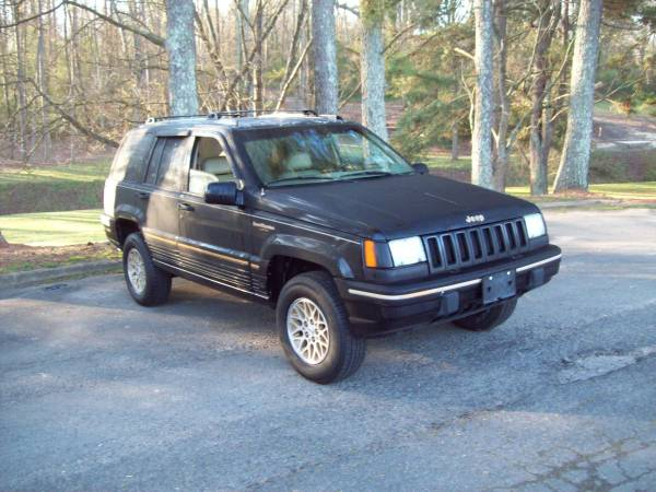 Photo 1995 Jeep Grand Cherokee 4x4 - $2200 (Rock Hill Sc)