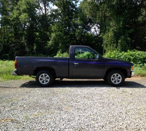Photo 1997 Nissan Hardbody Pickup - $4,750 (Belmont)