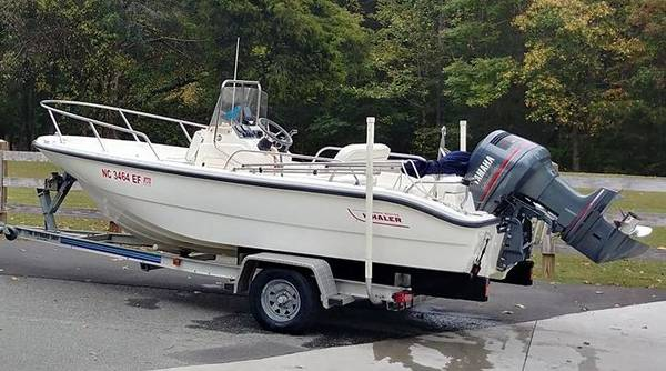 Photo 1999 Boston Whaler Dauntless 160 Center Console Boat - $21,900 (Waxhaw, NC)