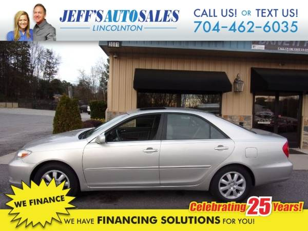 Photo 2003 Toyota Camry LE V6 - Down Payments As Low As $500 (Down Payment)