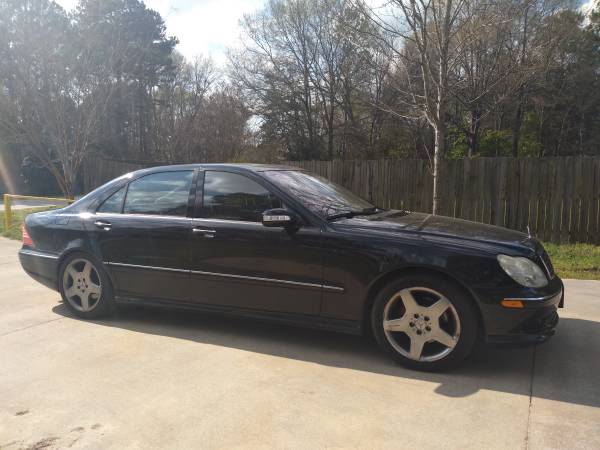 Photo 2004 Mercedes S500 - Loaded, Runs and Drives Great - Clean Inside and - $3500 (Rock Hill)