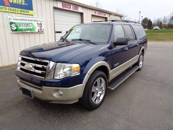 Photo 2008 Ford Expedition EL Eddie Bauer - $7750 (Statesville)