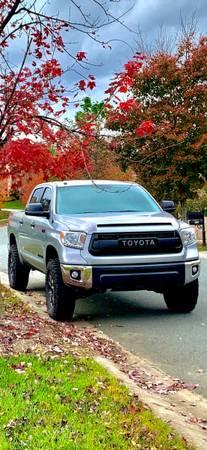 Photo 2014 Toyota Tundra Crewmax- 50k Miles - Lift Wheels Tires 6-passenger - $31,500 (Charlotte)