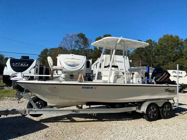 Photo 2016 Mako Bay Boat Center Console 21LTS 225 Mercury Loaded - $41,900 (Charlotte NC)