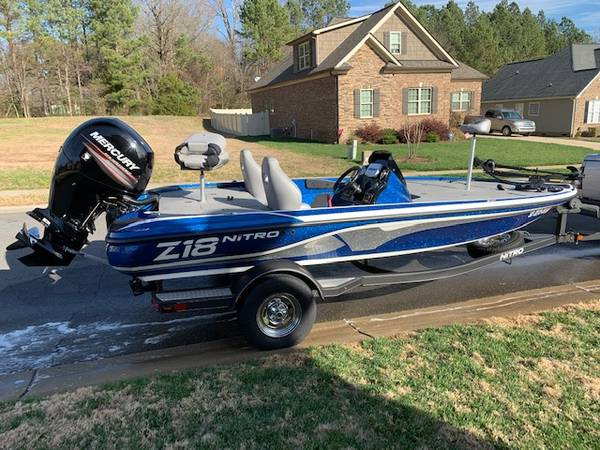 Photo 2017 Nitro Z-18 Bass Boat - $24,200 (ROCK HILL)