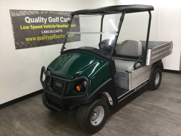 Photo 2019 Club Car Carry All 500 GAS golf cart - Electronic Fuel Injection - $6999 (Quality Golf Carts, Rock Hill, SC)