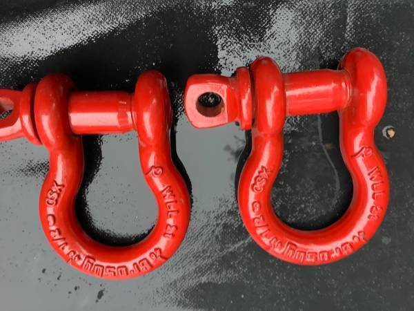 Photo 2 NEW CROSBY 12 G209 SCREW PIN ANCHOR SHACKLES 2 TON ALLOY FORGED - $15 (HARRISBURG)