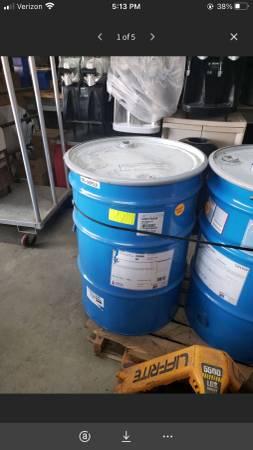 Photo 55 gallon Sherwin Williams Eggshell White Paint - $199 (Mooresville)