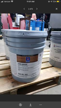 Photo 5 Gallon Bucket of Sherwin-Williams SHER-WOOD Universal Millwork Prime - $65 (Mooresville)
