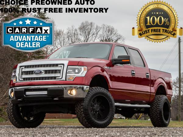 Photo 6 INCH BILSTEIN LIFTED2014 FORD F150 4X4 CREW CAB EYEFULL LK - $21486 (Ford GMC Dodge Toyota Chevrolet)