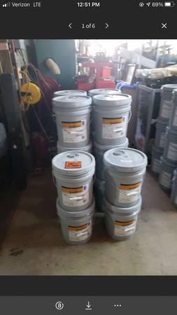 Photo (7) 5 gallon of Sherwin-Williams SHER-WOOD WB TB PRIMER - $65 (Mooresville)