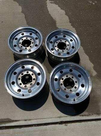 Photo 8 Lug Ford Rims - $100
