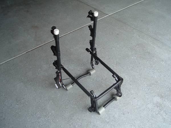 Photo ALLEN Bike Rack  3 Bikes  Model 103db  Trunk Mount - EC - $40 (UNCC - Harrisburg)