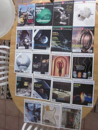Photo American Heritage Invention Technology Magazine Back Issues 1998-2004 - $40 (Charlotte)